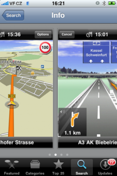 iphone navigation