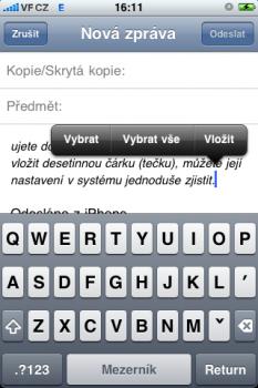 iphone paste