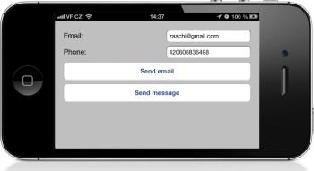 iphone send sms